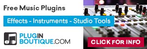 Free Music Plugins from Pluginboutique.com
